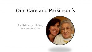 Oral Care and Parkinson's2