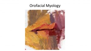Orofacial Myology2